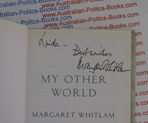signed Margaret Whitlam