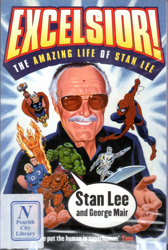 Excelsior: The Amazing Life of Stan Lee   Stan Lee   Paperback