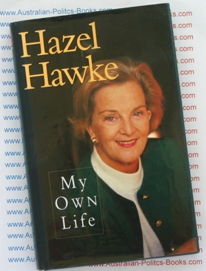 My Own Life by Hazel Hawke -hardback USED