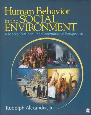 Human Behavior in the Social Environment: A Macro  National  and International Perspective   Rudolph Alexander Jr.   Paperback