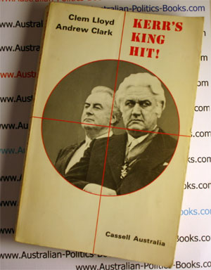 Kerr's King Hit! - Clem Llode and Andrew Clarke USED Book 1976