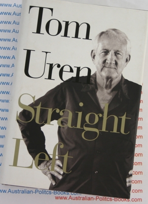 Straight Left - Tom Uren  - USED